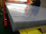 4*8 PlastikTransparent PVC Rigid Sheet mit Two Sides Protective Film