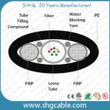 2-12 Optische Kabel van de Vezel Unitube OpenluchtFTTH van vezels de Vlakke (GYFXY)