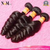 Stronge Webart und doppelte natürliche Haar-einschlagfarben-indisches loses Wellen-Haar
