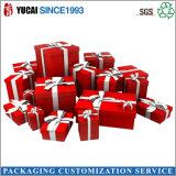 2017 Rot-Papiergeschenk-Kasten-verpackenkasten