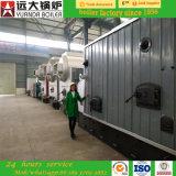 caldeira de vapor despedida palha da serragem do Husk do arroz da biomassa 1-20ton