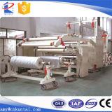 Película quente automática da colagem do derretimento/máquina de estratificação não tecida