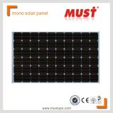 Горячая Monocrystalline панель солнечных батарей 250watt для солнечной системы