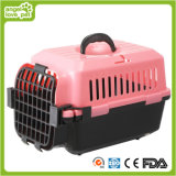 Transporteur en plastique de chat de crabot d'animal familier de cas de vol (HN-pH446)