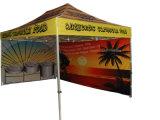 折る防水釣テントを広告する