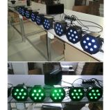 PARIDADE de venda quente do diodo emissor de luz 10W da carcaça plástica de 7PCS RGBA mini