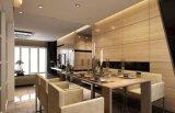 Panneau en aluminium de fini de pierre de qualité d'usage de décoration avec du ce et le certificat de GV