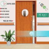 O aço defende a porta do Sickroom com vidro com grelha (BN-HP112)