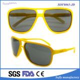 Óculos de sol polarizados forma da marca do desenhador da lente da alta qualidade