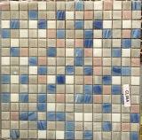 300 Azulejo de Mosaico de Cristal de Cerámica Azul del Material de Construcción de *300 Milímetros (FYSND14E)