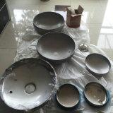 Cabeça do tanque principal do prato do tampão de extremidade do aço inoxidável