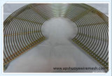 Butoir axial de ventilateur de couverture de ventilateur en métal d'échappement