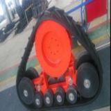 Het goede Systeem van het Spoor van de Prijs Rubber voor Tractoren hxl-400