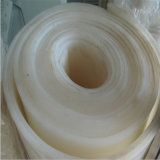 Folha de alta temperatura branca transparente da borracha de silicone