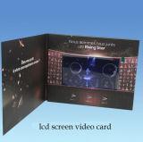 "2.8/3.5/4.3/7 do "" livreto video video LCD Brochure/LCD para a propaganda, presente, instrução"