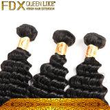 新式の深い波の黒の人間の毛髪のマレーシアの毛の拡張