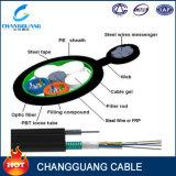 Cabo ótico da fibra ao ar livre da alta qualidade da fábrica de China com os fios encalhados queSuportam a figura 8 cabo Gytc8a