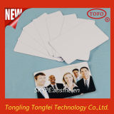 Tarjeta en blanco y bandeja de la identificación del PVC para la impresión del chorro de tinta
