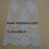 Tessuto nuziale alla moda del merletto della Cina Suppier per il vestito da cerimonia nuziale Vl- 60011bc