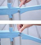 Нержавеющая сталь 3 слоев голубая одевает стеллаж для просушки Rx-Cr300wms