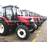 De Tractor van het Wiel van het Landbouwbedrijf van de fabrikant Wd1004 4WD 100HP