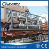 Système titanique de traitement des eaux de perte industrielle d'eau salée de crystalliseur d'évaporation de film de vide d'acier inoxydable de Shjo