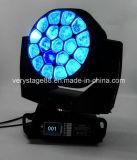 Luz principal móvil del ojo de la abeja del nuevo producto 19*15W Osram LED