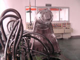 Assemblée de moteur horizontale de coupeur de tambour