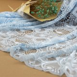 GarmentsおよびKids Dressのための花のEmbroidery Cotton Lace Fabrics