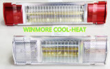 De waterdichte Elektrische Infrarode Verwarmer van IRL (Onmiddellijke Hitte)