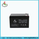 batería de plomo sellada frecuencia intermedia de la UPS de 12V 10ah VRLA