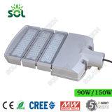 50W 100W 150W 200W 250W 300W Светодиодный уличный фонарь со светодиодом CREE и MEANWELL Driver