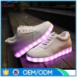 Zapatos calientes de la danza del partido de la noche de la venta con la planta del pie ligera del LED