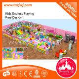 Il campo da giuoco di divertimento gioca il campo da giuoco dell'interno della struttura molle