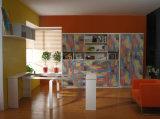 Horizotal傾斜ソファベッドFjは-52とSepsion機能書棚ベッドルーム家具