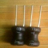 Tipo radial inductor Wirewound de la base del inductor/de ferrita de la potencia con RoHS