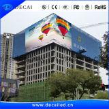 Afficheur LED élevé visuel polychrome de la publicité extérieure de la définition SMD P10