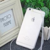 Silicone van het Geval van de Telefoon van de eenvoud het Transparante de Zachte Mobiele Dekking van de Telefoon voor iPhone 6/6plus