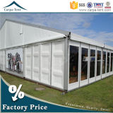 20m da 40m Cheap Temporary Canopy ABS Solid Wall Tent per Outdoor Event