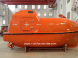 El uso de buques de carga totalmente cerrados Precio bote salvavidas