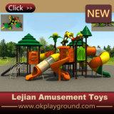 Apparatuur van de Speelplaats van kinderen de Openlucht voor het Pretpark van de School (X1505-3)
