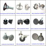 청정실과 실험실 (EGS-3312-GHD)를 위한 까만 조정가능한 PU ESD 발판