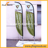 Bandeira da pena da impressão de Digitas da fibra de vidro da exposição/bandeira do vôo