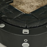 Роскошная софа кожи Recliner (1108#)