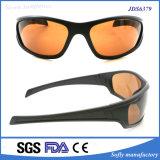Lunettes de soleil polarisées plein par miroir de sports en plein air de bâti de Soflying avec UV400