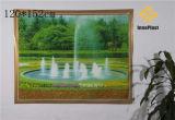 Vinil decorativo pano de tabela transparente impresso da paisagem