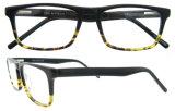 Freies Beispielschauspiel Gernam blauer Vierecks-Azetat Eyewear Brille-Rahmen