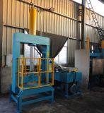 Hydraulische harte vertikale abschneidene Plastikmaschine