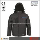 安全衣服のParkaの冬のジャケット