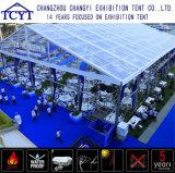De grote Openlucht Duurzame Tent van de Muur van het Glas van de Tentoonstelling van de Markttent Grote